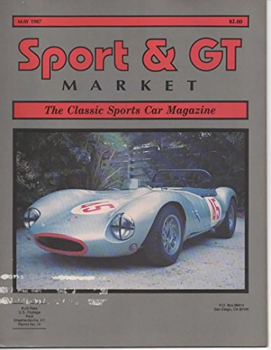 Sport and GT Market, The Classic Sports Car Magazine, May 1987 (Vol 7, No 3, Issue (Golf Iii Gt)