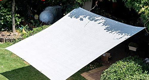 Solar Malla Sombrilla Tejado UV Espesar Toldos Terraza Malla Defensas Cobertizo Parasol Jardin Protecci/ÓN del Borde Sombra,Blanco Disponible En Una Variedad De Tama/ños