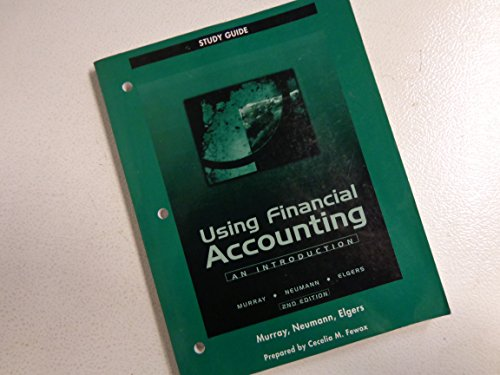 Using Financial Accounting Study Guide