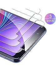 Zapig 3 x Samsung Galaxy A7 2018 Verre trempé Protecteur d'écran, Film Protection en Verre trempé écran Protecteur vitre - Anti Rayures - sans Bulles d'air Résistant Dureté 9H pour Samsung A7 2018
