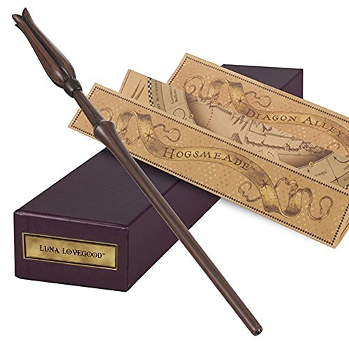 Luna Lovegood Wand Ollivanders Interactive Wand Wizarding World of Harry Potter