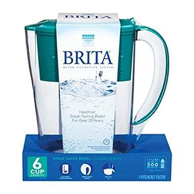 Brita Pitcher Refrigerator 6 Cup Space Saver