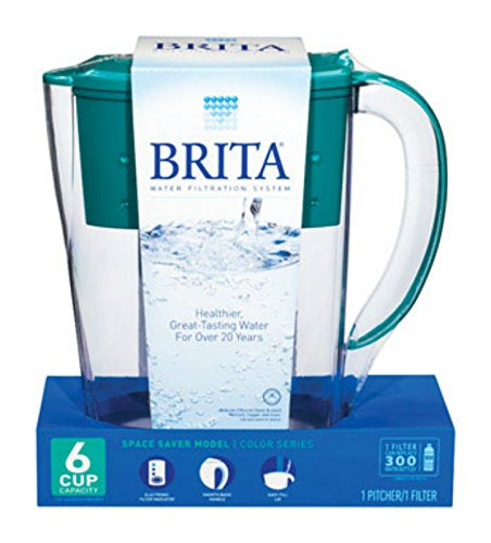 Brita Pitcher Refrigerator 6 Cup Space Saver by Brita