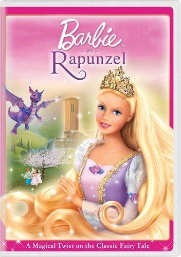 Barbie as Rapunzel by Universal Studios