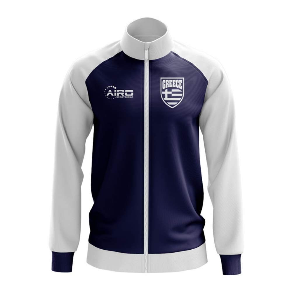 Airo Sportswear Greece Concept Football Track Jacket (Navy)