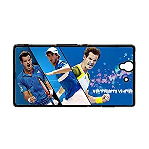 Generic For L36H Xperia Z Custom Design With Andy Murray Nice Back Phone Case For Teen Girls Choose Design 3