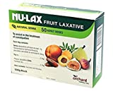 Nulax Fruit Laxative Block 500g Made From Pure Dried Fruits Made in Australia (4 Pack)