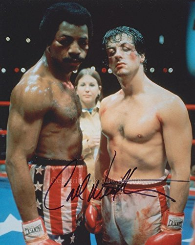 CARL WEATHERS as Apollo Creed - Rocky GENUINE AUTOGRAPH
