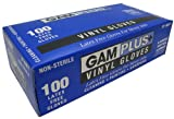 Gam Paint Brushes SP98871 Vinyl Gloves, Large/Extra-Large, 100-Count