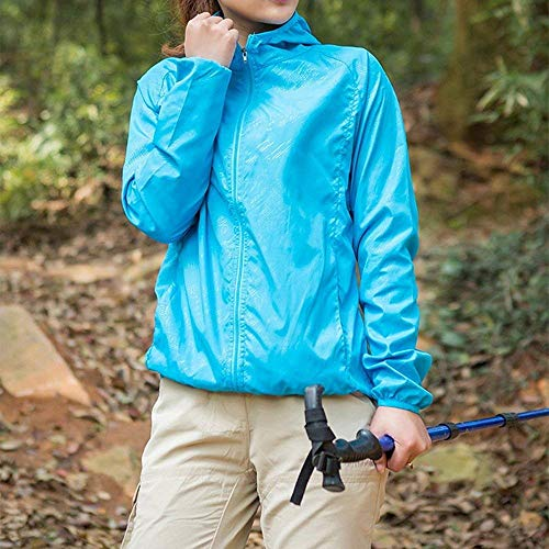 Women Giovane Protezione Libero Con Incappucciato Schwarz Sweat Outdoor Relaxed Sportivo Tempo Impermeabile Solare Colore Donna Giacche Cappuccio Estivi Primaverile Jacket Puro Giacca Facile Elodiey wx7aBXqRW