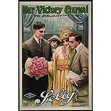 "Her Victory Eternal, Eugenie Besserer & William Stowell, Elsie Greeson, 1914 - Premium Movie Poster Reprint 28"" by 42"" Unframed"