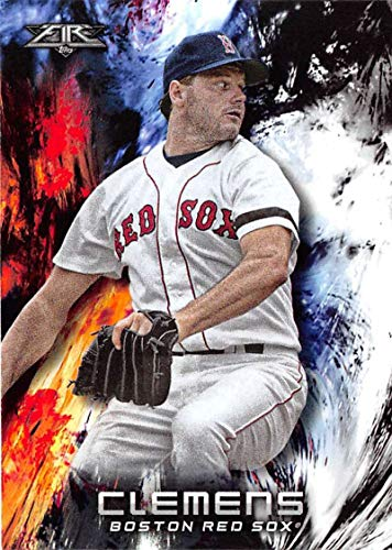 (2018 Fire #198 Roger Clemens Red Sox)