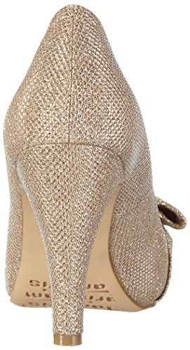 Tamaris 29300, Women's Open-Toe Heels Silver - Silber (Platinum Glam 970)