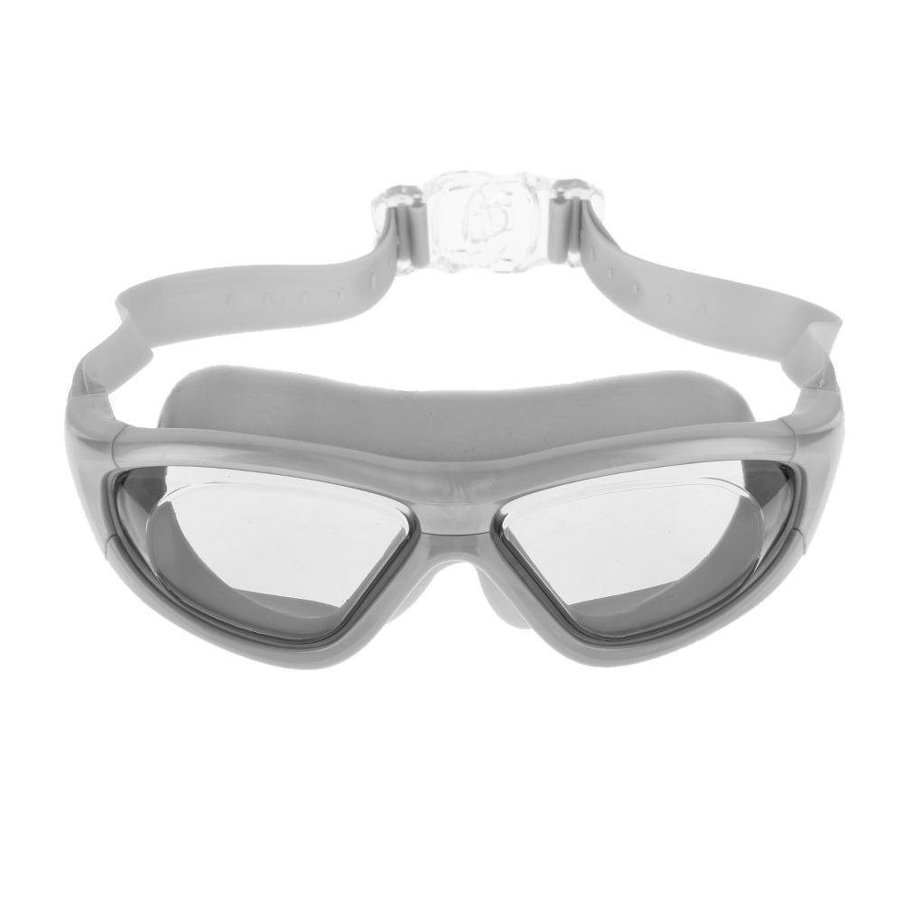 ec6648503c Gafas de natación de Silicona para Adultos B Impermeables xintiandi  antivaho Ajustables