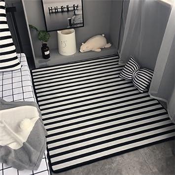 GRENSS Clasicas Rayas Blanco Negro Salón Dormitorio Salón ...