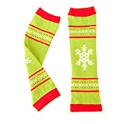 Hallmark Baby Festive Holiday Leg Warmers (Green)