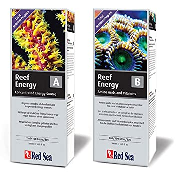 Red Sea Reef Energy a + b, 2 x 500 ml Coral Forro líquido |