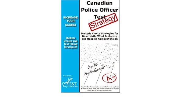 Canadian Police Test Strategy! Winning Multiple Choice