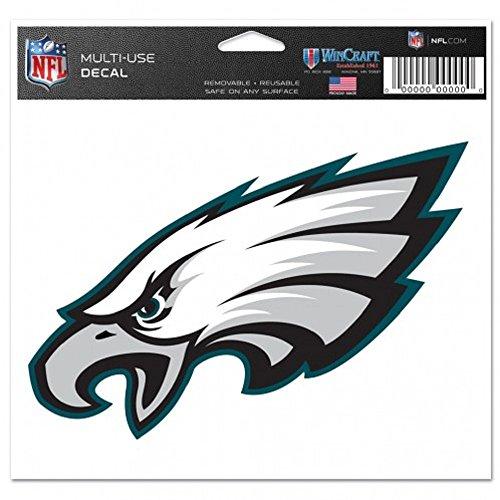 WinCraft NFL Philadelphia Eagles Ultra Color Logo Decal -, 5