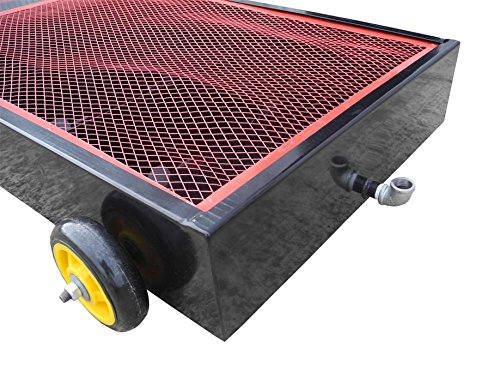 Redline Re20g 20 Gallon Rolling Oil Drain Pan Steel Tank