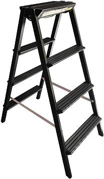 QFF Escalera metálica lateral doble, Usos Múltiples taburete Seguridad Ligera Escalera 2-3 Escalera plegable de seguridad de carga: 100 Kg doblez (Size : 46 * 74 * 108CM): Amazon.es: Bricolaje y herramientas