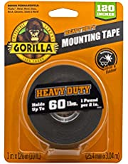 Gorilla Heavy Duty Double Sided Mounting Tape XL, 1
