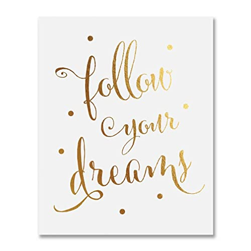 Dream Your Dreams Motivational Wall Art