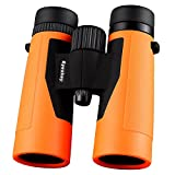 Eyeskey 10x42 High Powered Magnification Binoculars - Bright and Clear Range of View - for Travel, Sports and Wildlife - Comes with Case, Lens Caps, Strap