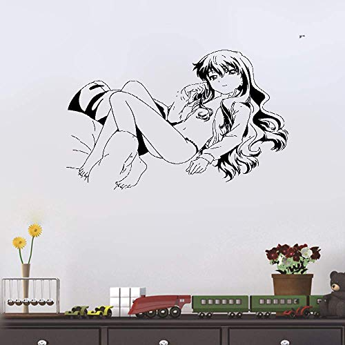DIY Removable Vinyl Decal Mural Letter Wall Sticker Anime Manga Sexy Bikini Girl for Bedroom