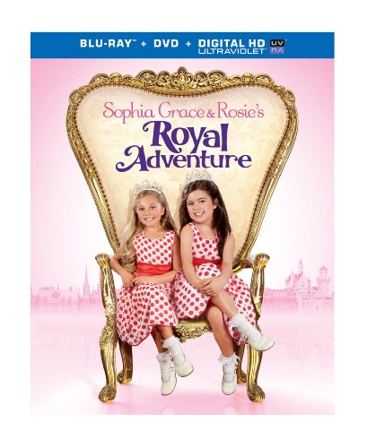 Sophia Grace & Rosie's Royal Adventure [Blu-ray]