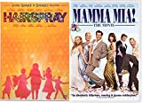 Mamma Mia! The Movie & Hairspray Musical DVD Set Special Edition 2 Disc & Bonus Videos Shimmy Shake