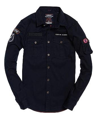 565d1ba9 Superdry Men's Rookie Edition Trail Shirt at Amazon Men's Clothing ...