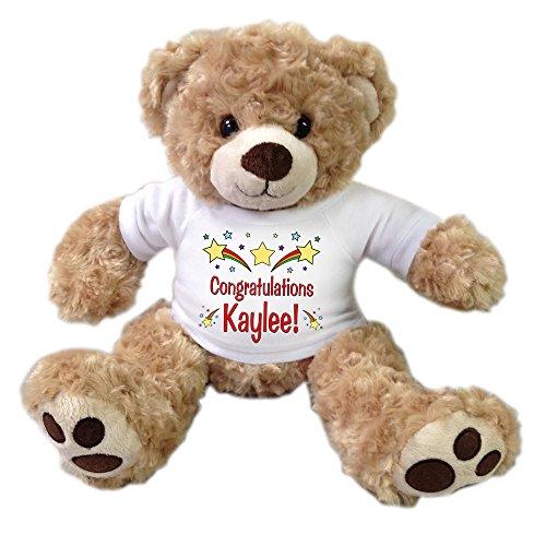 Personalized Congratulations Teddy Bear - 13