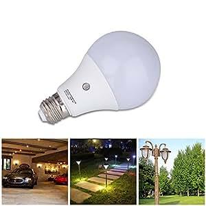 E27 LED Sensor Light Bulbs Built In Photosensor Detection Auto Sw