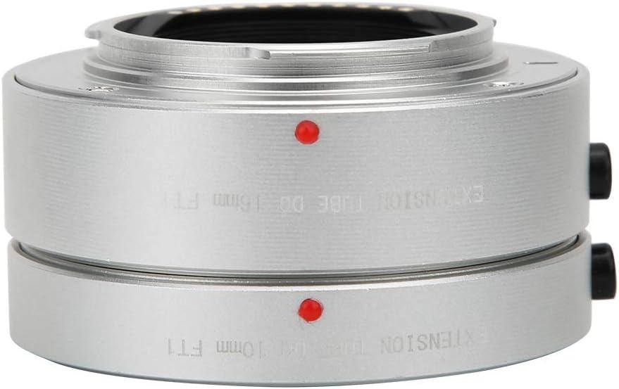 Gray Vbestlife Camera Macro Lens Adapter FT1 10mm+16mm Auto Focus Macro Extension Lens Adapter Ring for Olympus M4//3 Mount Camera
