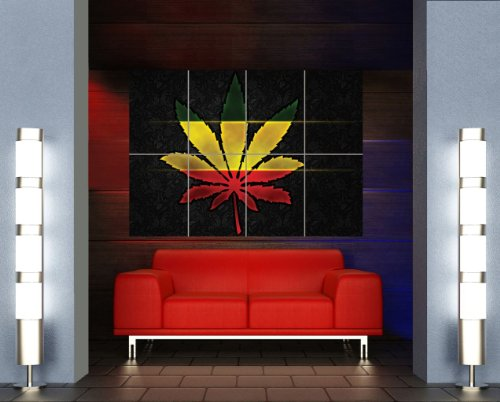 MARIJUANA WEED RASTA GIANT WALL ART PRINT POSTER PICTURE MR195
