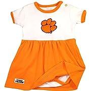 Future Tailgater Clemson Tigers Baby Onesie Dress