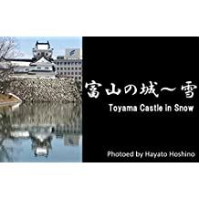 Toyama Castle in Snow (Japanese Edition)