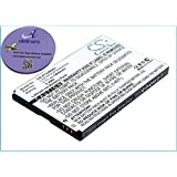 vintrons (TM) - 1400mAh Battery For ZTE E760, Raise, TMN Silverbelt, U500, U980, X60, X61, X70, X876, + vintrons Coaster