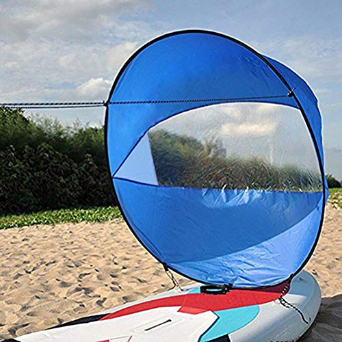 LIGONG 42 inches Kayak Wind Sail, Foldable Popup Board Paddle Downwind Sail Kit for Kayaks