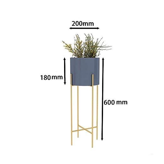 Puesto de plantas Soporte de flores vertical de una sola capa ...