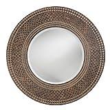 Howard Elliott 2151 Hampton Mirror, Deep Walnut
