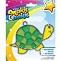 Brand New Makit & Bakit Suncatcher Kit-Turtle Brand New