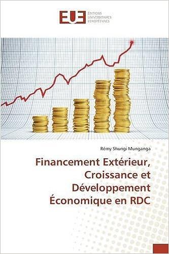 Lire Financement Extérieur, Croissance et Développement Économique en RDC pdf, epub