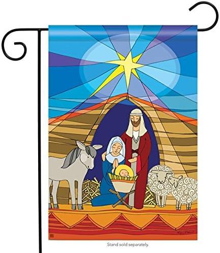 BreezeArt Religious Christmas Garden Flag Garden Flag 30130