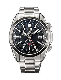ORIENT ORIENTSTAR GMT automatic (with manual winding) black SDJ00001B0 Mens Watch