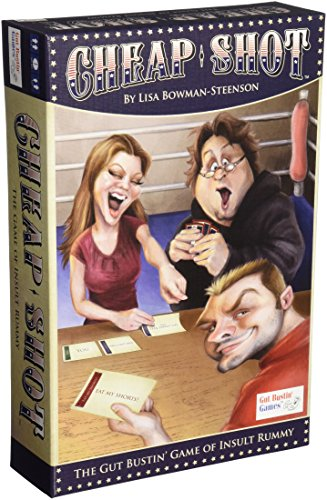 Gut Bustin' Games Shot of Insult Rummy Board Game