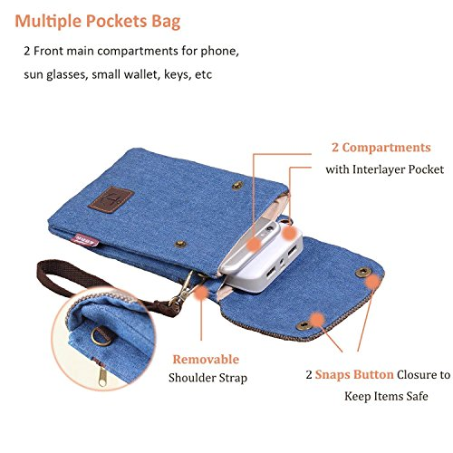 7 Purse Universal Galaxy Pouch 3 For Bag Strap With Hengying Note Canvas Mini Plus 6 Body 6 Cross Phone 5 X Wrist Children Mobile Women Mega Blue green Dark Girls 4 Ring Iphone 6s 2 3 Key ngnzUYqw