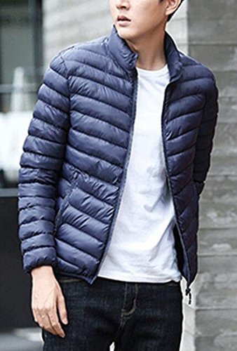 Winter Down UK today Lightweight Warm Ultra Jacket Dark Casual Blue Men 7wZnOqZS
