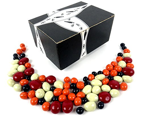 Cuckoo Luckoo Gourmet Chocolate Covered Fruit Medley, 1 lb Bag in a BlackTie Box